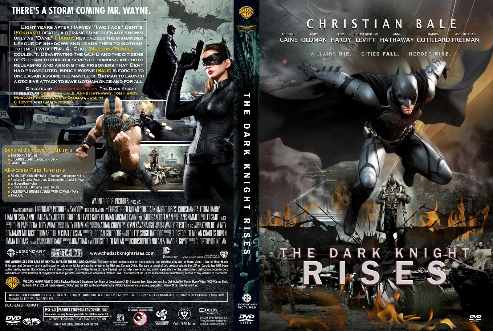 Batman: El Caballero de la Noche Asciende (2012) - Identi