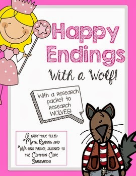 http://www.teacherspayteachers.com/Product/Happy-Endings-with-a-Wolf-Fairy-Tales-and-Wolf-Research-779555