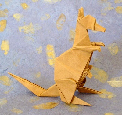 Projects Art And Craft Easy Origami Kangaroo