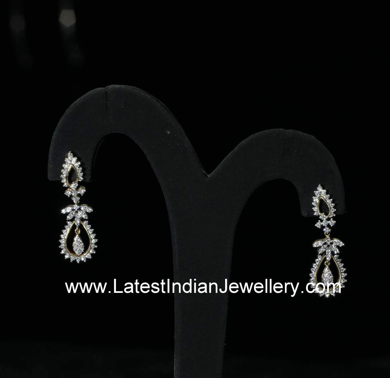 Simple Diamond Earrings for Everyday