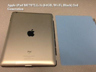 Apple iPad MC707LL/A (64GB, Wi-Fi, Black) 3rd Generation
