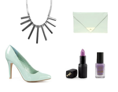 Sammi Jackson - Mint, lavender & silver