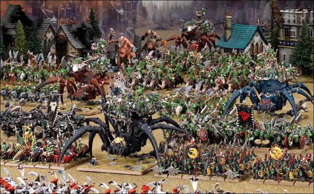 Games Workshop Orcs and Goblins Army