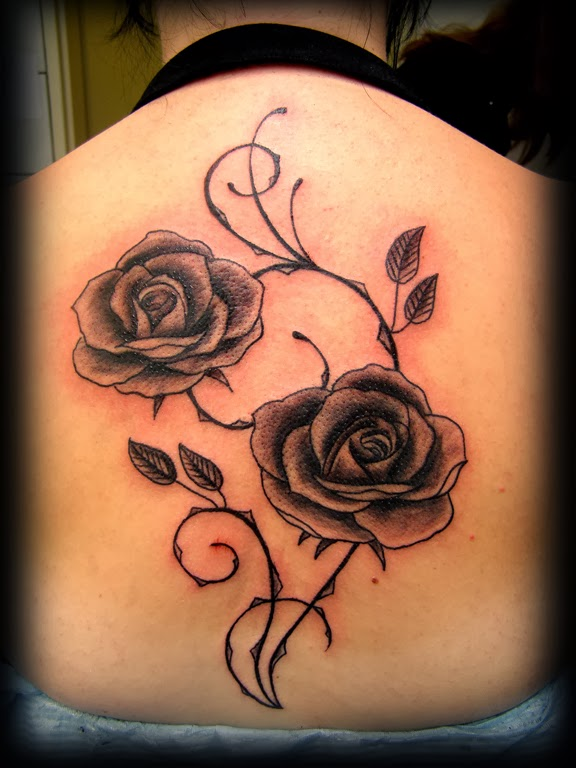 tattoos for girls flowers