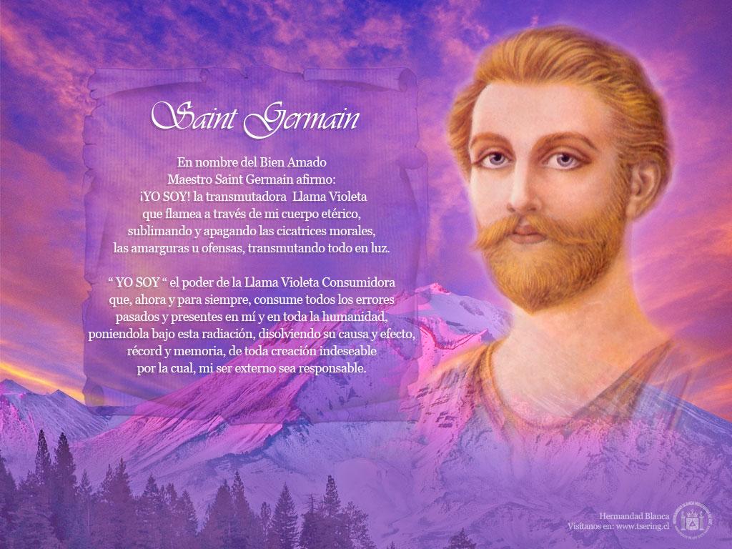 Ha llegado la luz mensaje del amado maestro saint germain for La quincaillerie saint germain