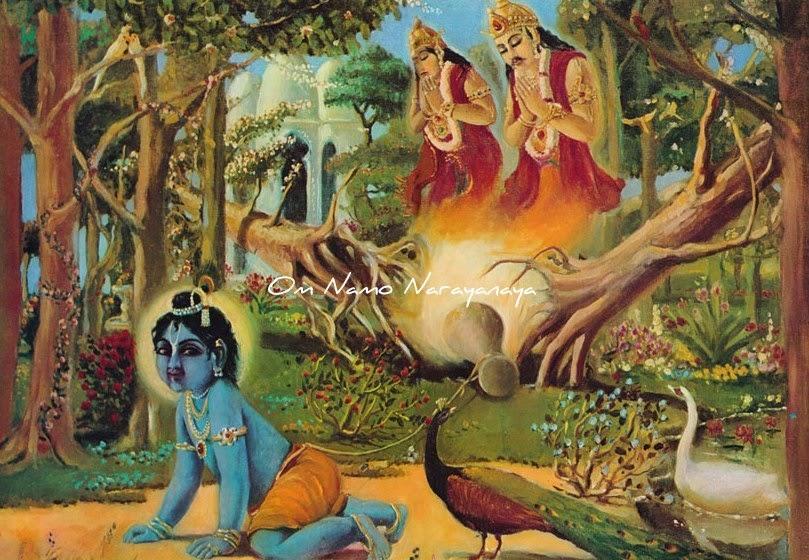கண்ணன் கதைகள் (36) -நளகூபர, மணிக்ரீவ சாப விமோசனம்,கண்ணன் கதைகள், குருவாயூரப்பன் கதைகள்,