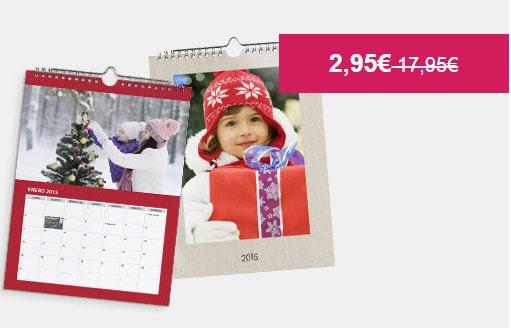 Descuentos de hasta el 80% en calendarios con fotografías