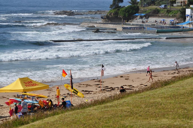 The Entrance beach, NSW, and ocean swimming pool