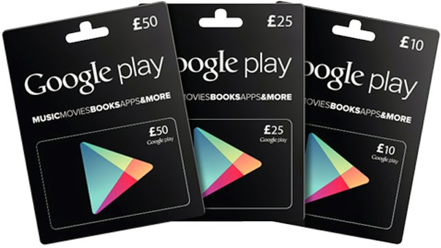 how to use google play gift card