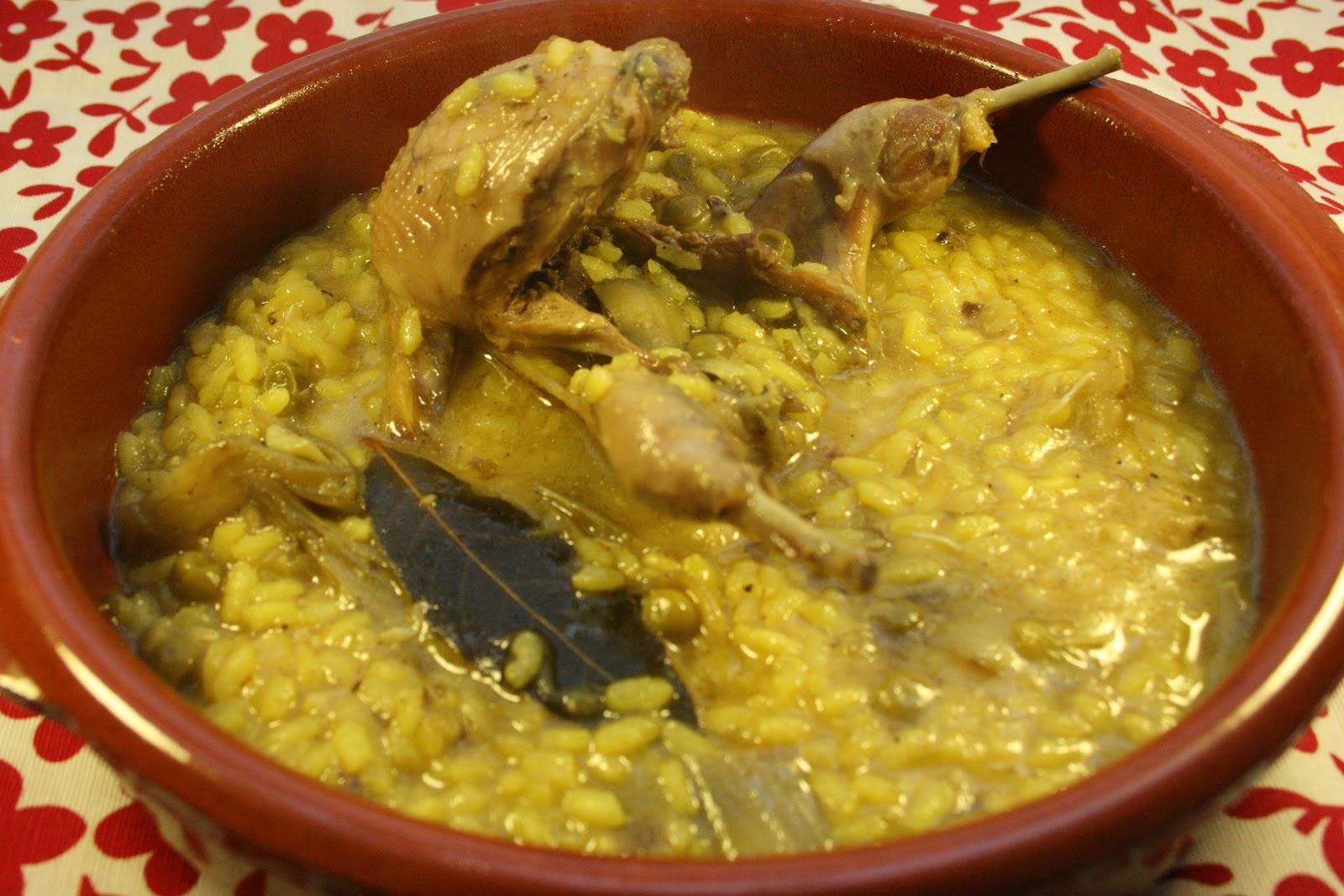 Aprendiendo a cocinar arroz caldoso con codornices - Como cocinar perdices ...
