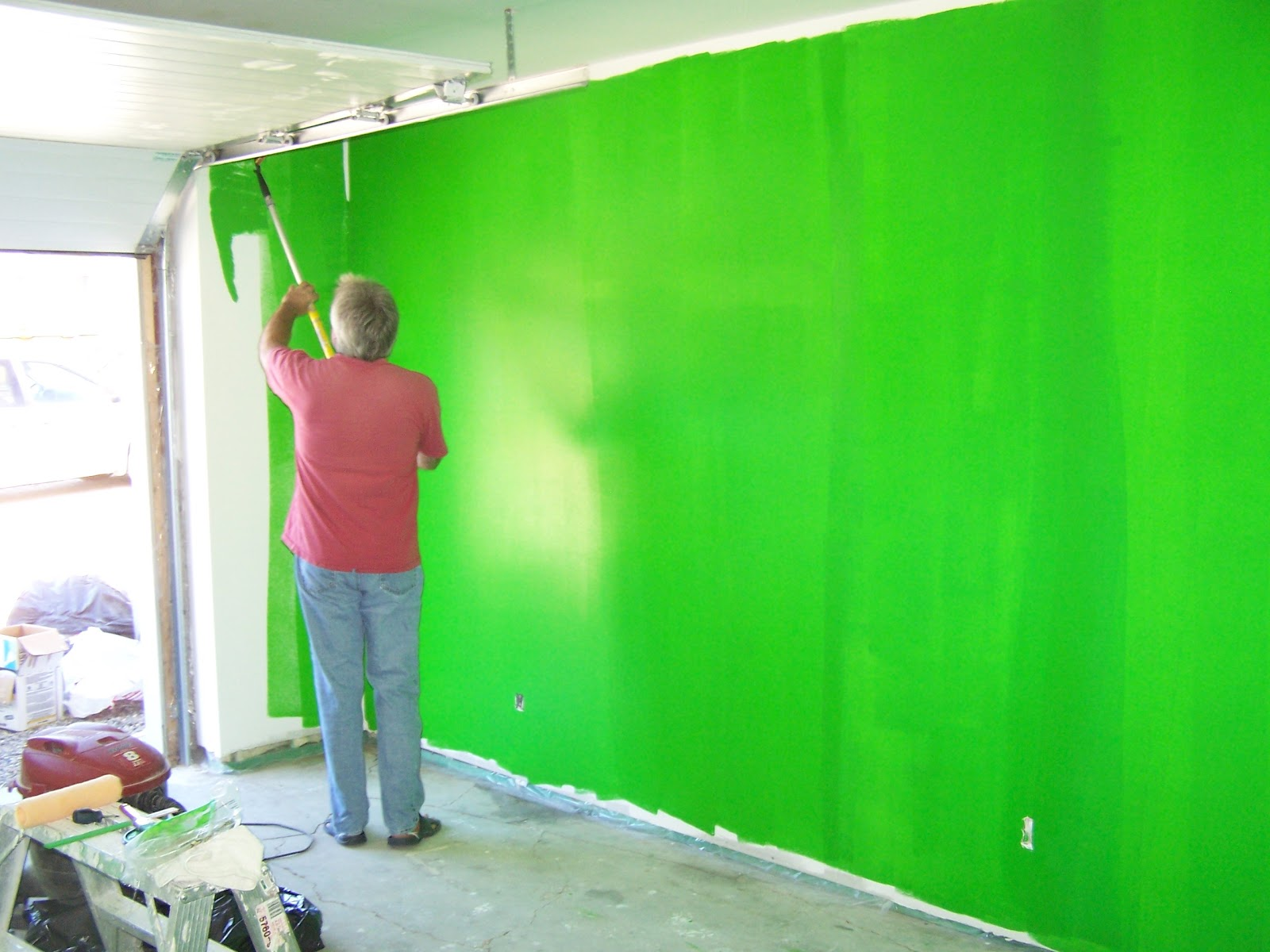 Chroma key paint home depot home painting ideas for Chroma mural paint