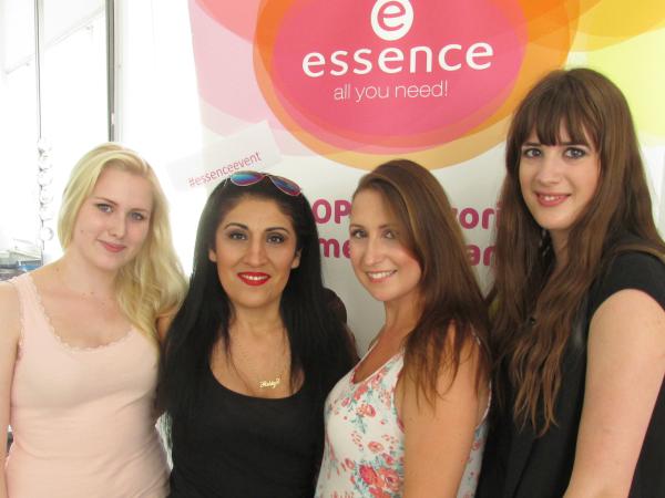 essence Bloggerevent München 2014 Madame Keke, Krissys Beauty Box, Andysparkles, Even if