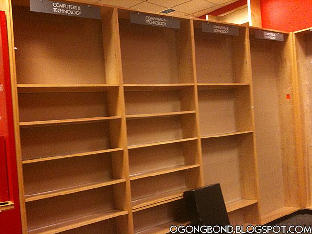 吳공본드 스토리: 미국 대형 서점 보더스 드디어 문 닫다...