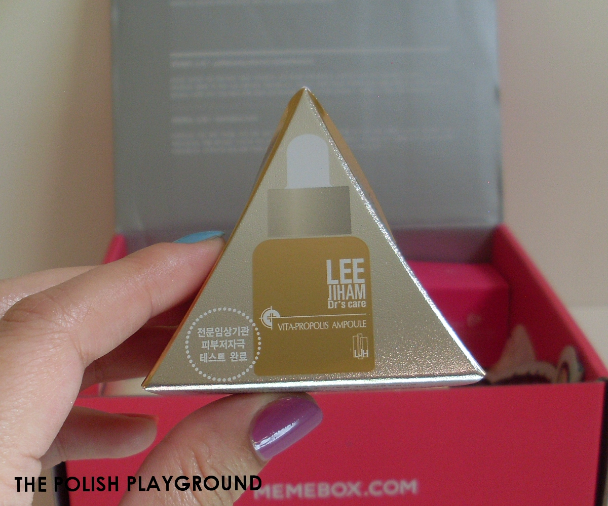Memebox Luckybox #3 Unboxing - LJH Dr's Care Vita Propolis Ampoule