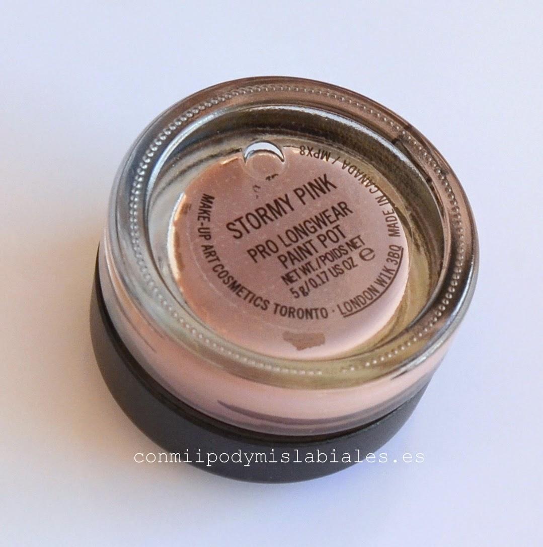 Stormy Pink Pro Longwear Paint Pot MAC