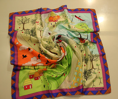 Sania Maskatiya Scarves for LRBT