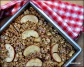 Easy Baked Oatmeal with Apples & Walnuts
