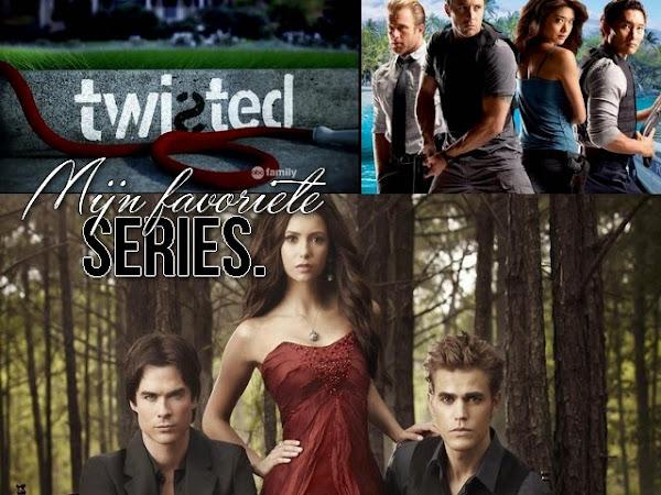 Mijn favoriete series.