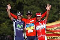 El podio de la Vuelta 2012 no estará completo en el Por Tour