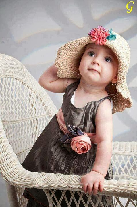 Cute Baby Pictures-Cap Babies Images
