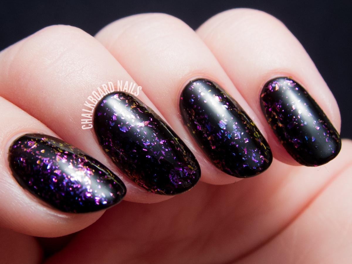I Love Nail Polish - Metropolis via @chalkboardnails
