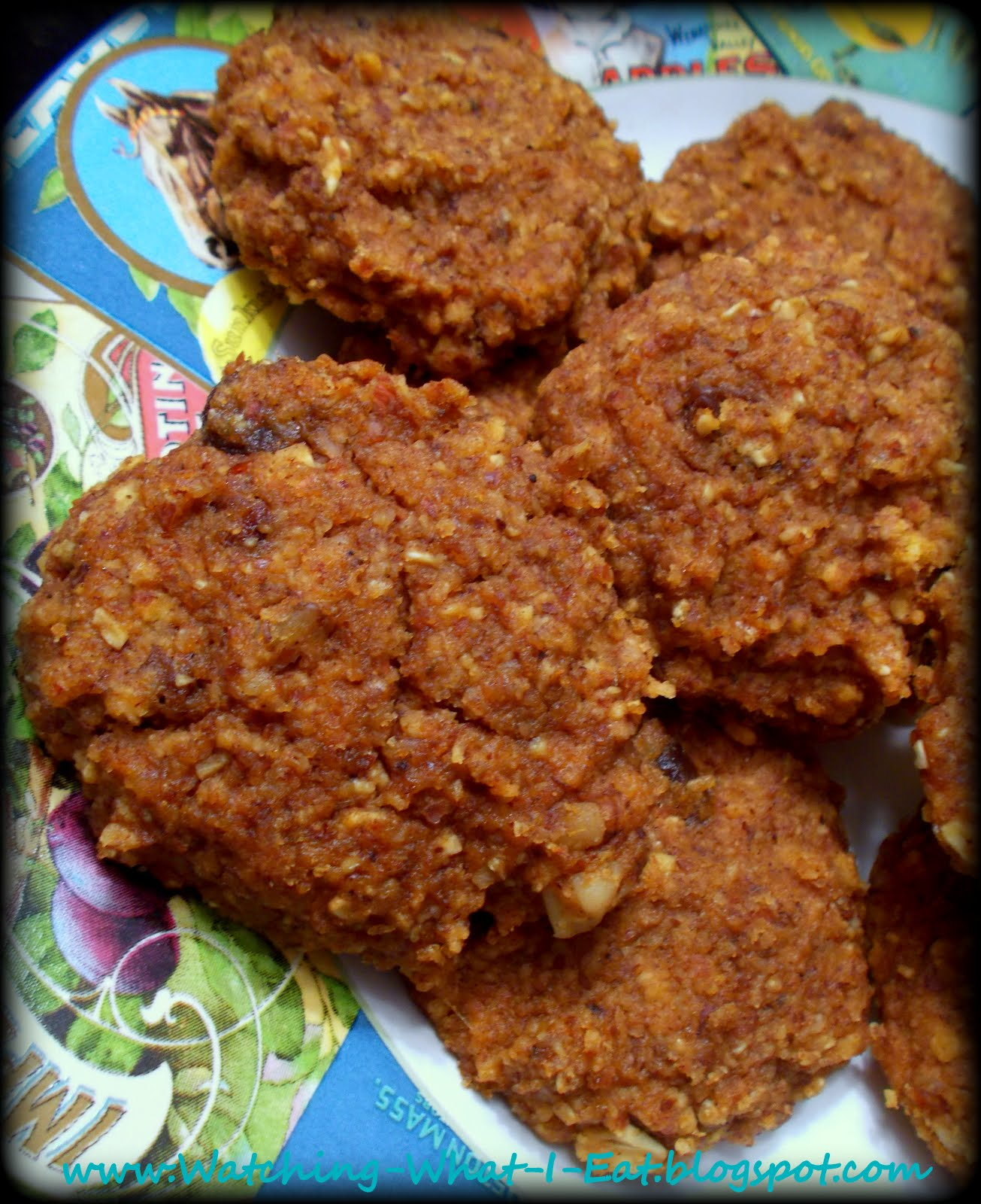 Watching What I Eat: Pumpkin-Oatmeal Spice Cookies ~ great for any ...