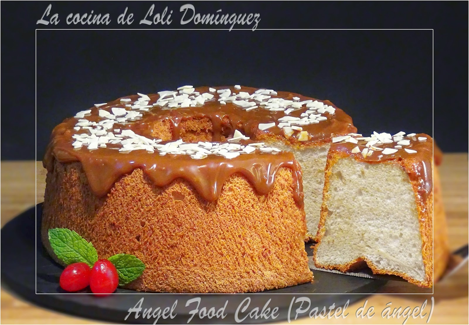 la cocina de loli dom nguez angel food cake pastel de ngel On la cocina de loli