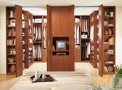 Quartos de Roupa/ Closets - Ambientes e Cores