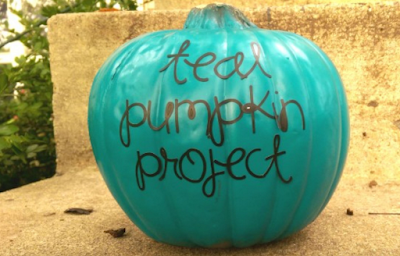 Teal Pumpkins and How They Are Making Halloween Safer!