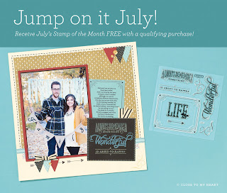 July CTMH Special Free Stamp Set