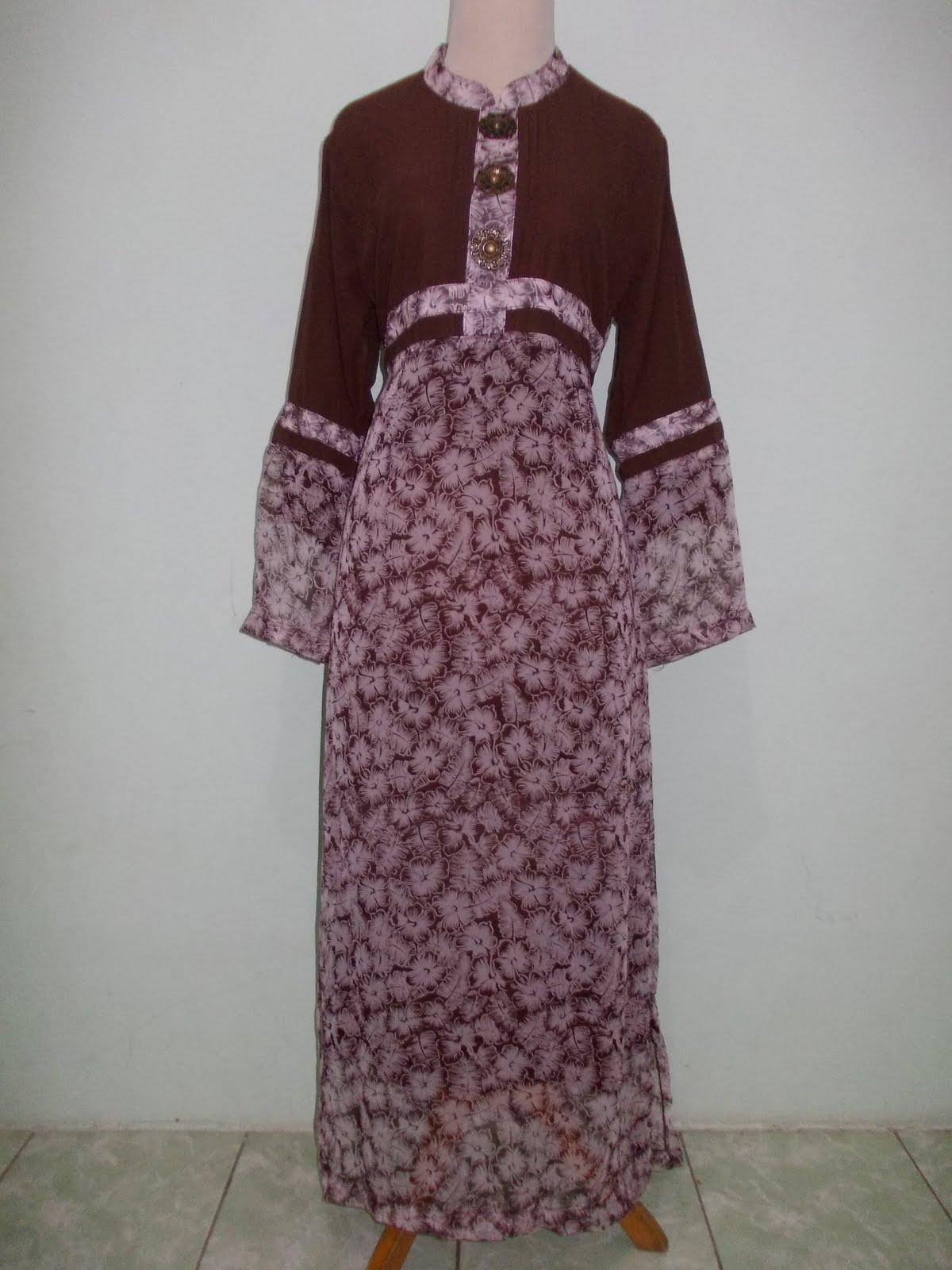 Baju Muslim Murah Meriah Gamis Sifon