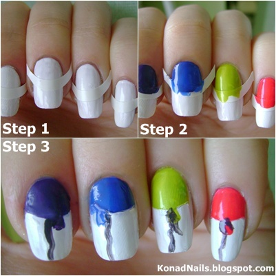 konad addict how to create balloons on nails in 3 easy steps