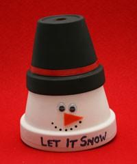 Enfeites de Natal Para fazer na escola | Boneco de neve