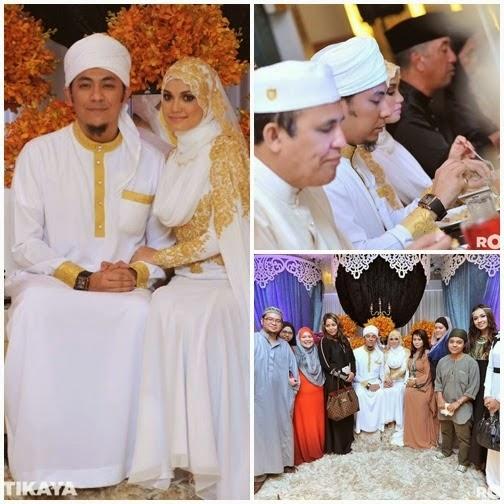 Foto Resepsi Tertutup Syamsul Yusof Dan Puteri Sarah Liyana