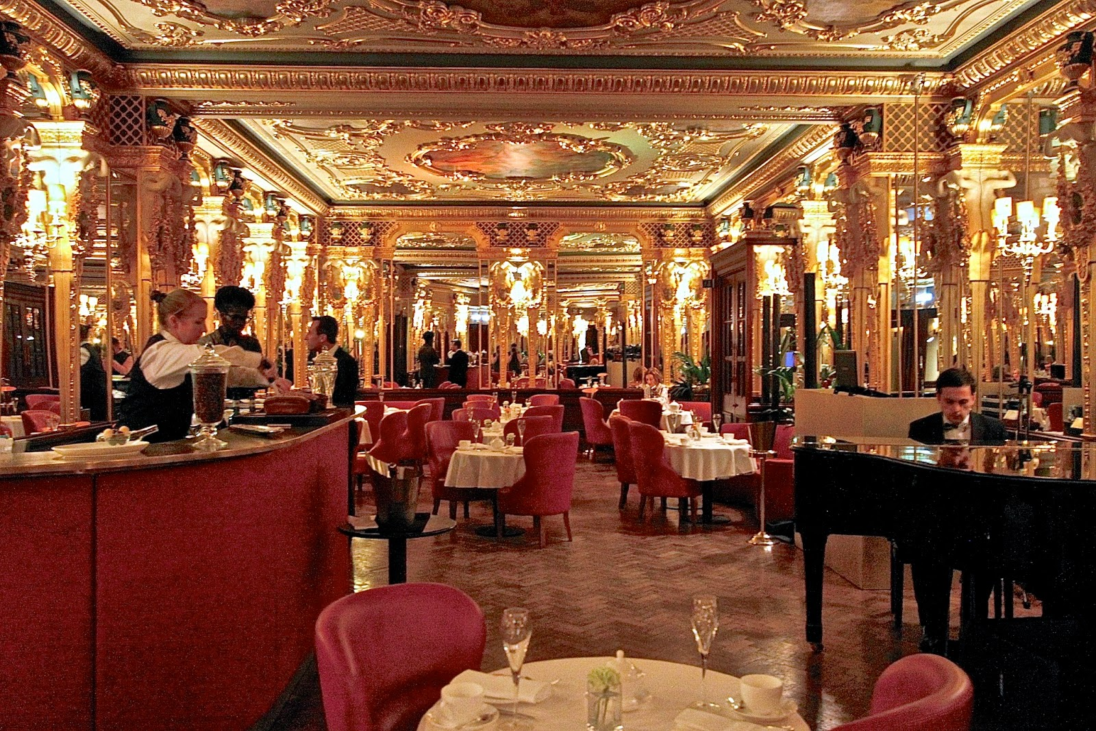 London Cafe Royal Afternoon Tea
