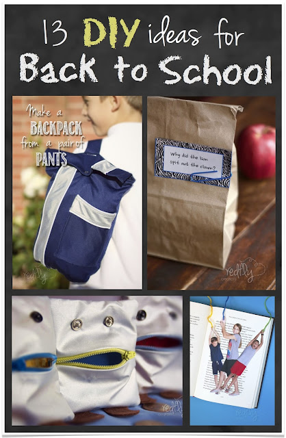 13 DIY Ideas for Back to School