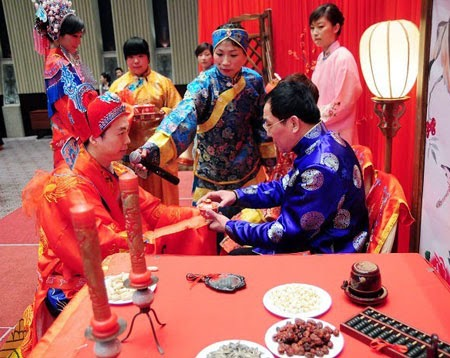 a introduction into wedding and marriage customs in the chinese culture Home chinese culture  marriage customs long history of chinese marriage customs and the marriage the wedding letter was prepared and presented.