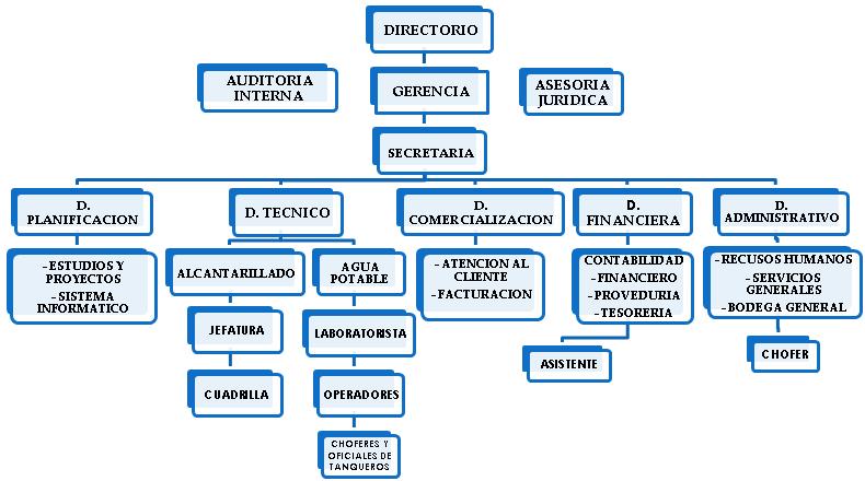 empresa estructura: