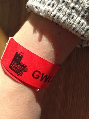 Conwy Food Festival Gwledd Conwy Feast wristband