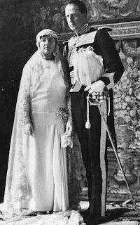 Mariage d'Isabel Alfonsa de Borbón et de Jan Kanty Zamoyski