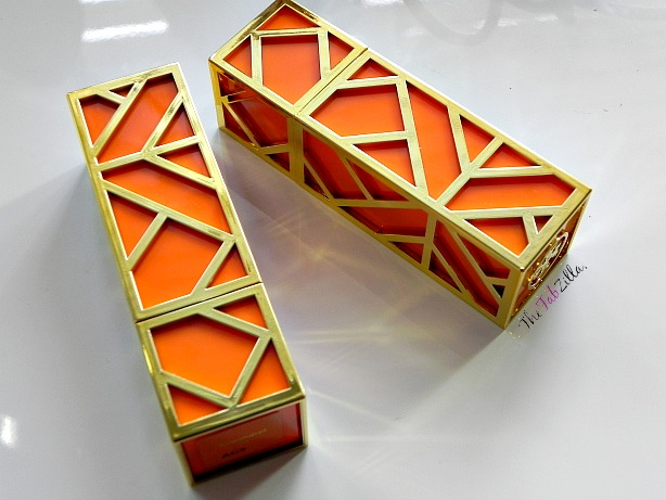tory burch lip color review, swatch, makeup for spring 2014