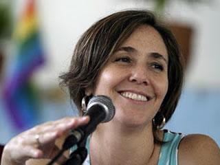 Mariela Castro, filha do presidente cubano, Raúl Castro (Foto: Divulgação)