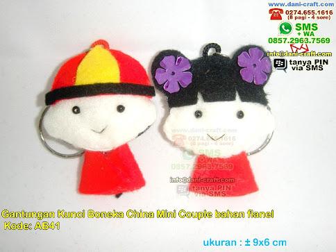 Souvenir Boneka Baju China