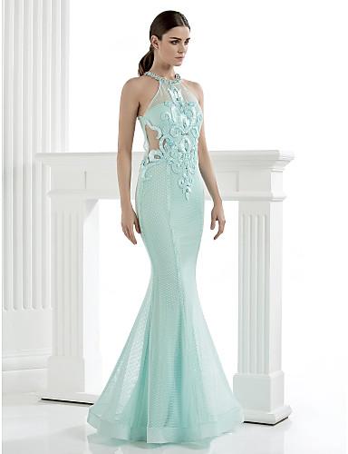 Vestido Largo Alta Costura Corte Sirena
