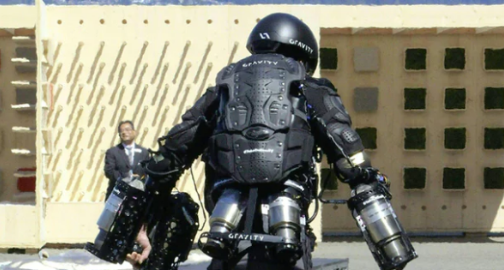Britain's Iron Man: inventor takes flight in jet-powered suit