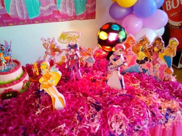 Decoração Winx ~ Decorações de Festas e Organizaç u00e3o de Eventos Decoraç u00e3o Winx Aniversário Ana Sofia