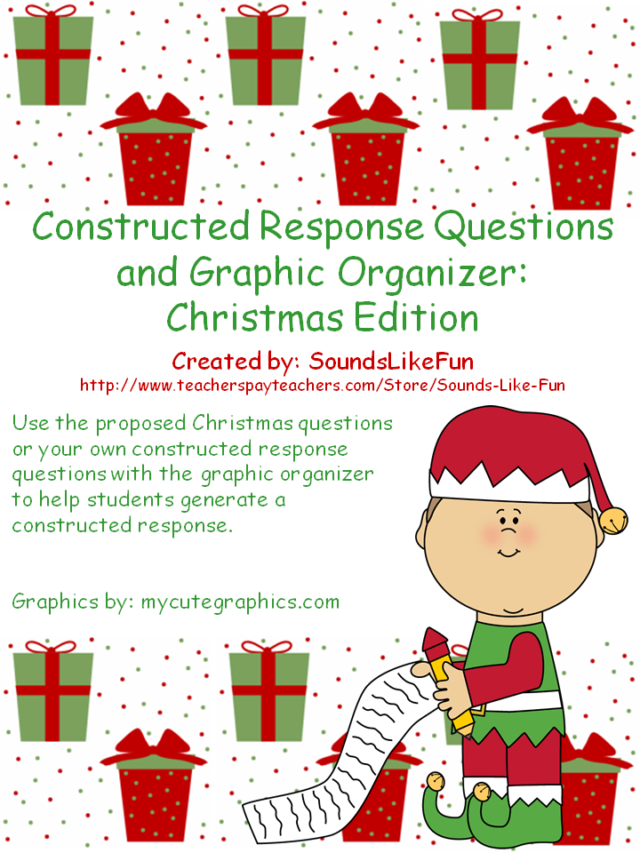 http://www.teacherspayteachers.com/Product/Constructed-Response-Questions-Graphic-Organizer-Christmas-Edition-1571384