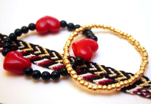 Twinkie Chan Heart Bracelets