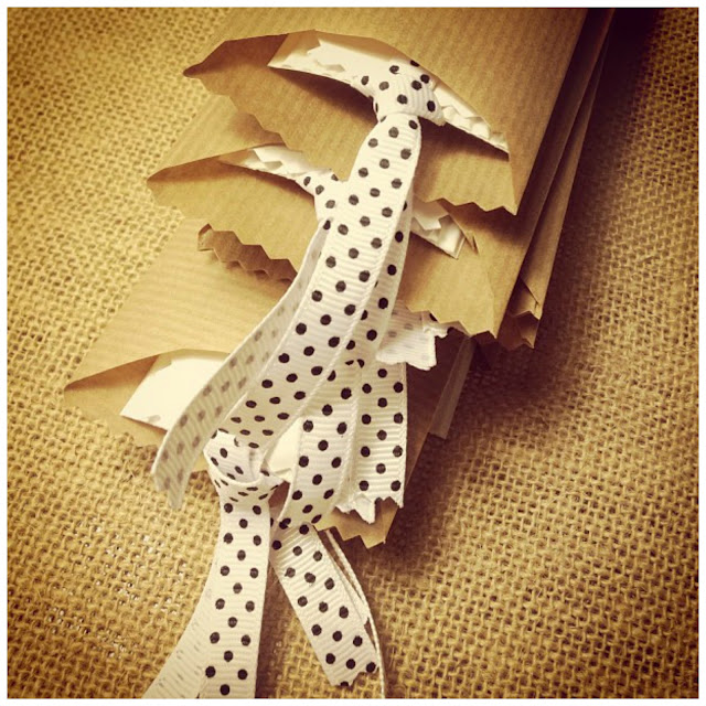 wrapped bookmarks