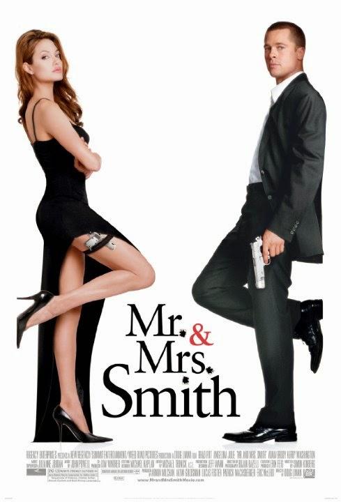 Sr. y Sra. Smith 2005 [DvDRipAudioLatino][Acci�n]